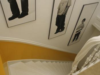 Entree trappenhuis slaapkamer kinderkamer werkkamer voorkleur - Verf voor gang ...