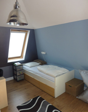 Entree trappenhuis slaapkamer kinderkamer werkkamer voorkleur - Kleur voor de slaapkamer van de meid ...