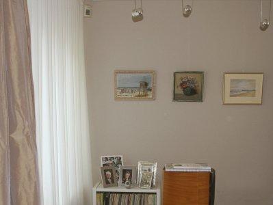 licht taupe woonkamerwand