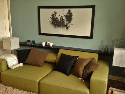 Groen In Woonkamer : Kleur je interieur groen zo haal je de natuur in je woning